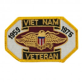 Veteran Embroidered Military Patch - Viet Vet