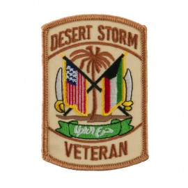 Veteran Embroidered Military Patch - DS Veteran