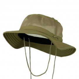 Big Size Mesh Bucket Hat Talson UV - Khaki