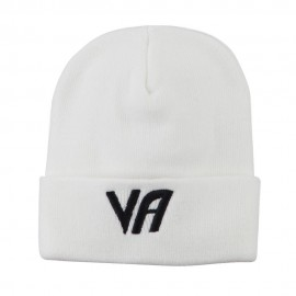State VA Embroidered Long Beanie