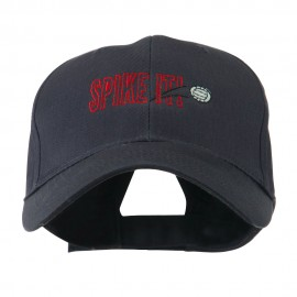Spike It Volleyball Logo Embroidered Cap