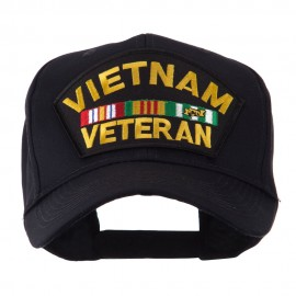 Veteran Military Large Patch Cap - Vietnam Veteran