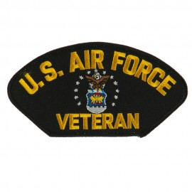 Big Size Veteran Military Large Patch - Yellow Air