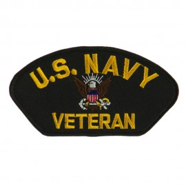 Big Size Veteran Military Large Patch - US Navy