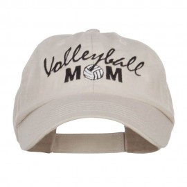 Volleyball Mom Embroidered Low Profile Cap