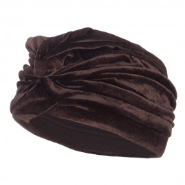 Women's Velvet Turban Hat