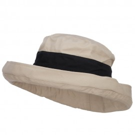 Women's Canvas Crushable Roll Up Hat