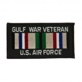 Veteran Rectangle Embroidered Military Patch