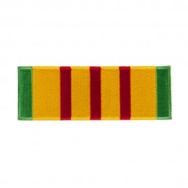 Veteran Rectangle Embroidered Military Patch - Ribbon
