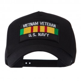 Veteran Rectangle Shape Patch Cap