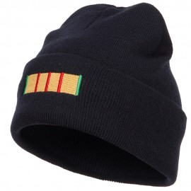 Vietnam Campaign Ribbon Embroidered Long Beanie
