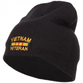 Vietnam Veteran Embroidered Short Beanie