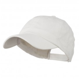 Washed Ball Cap - White