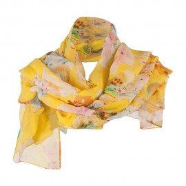 Watercolor Butterflies Summer Scarf