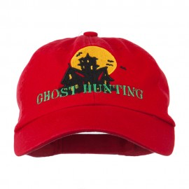 Halloween Ghost Hunting Embroidered Pet Spun Cap