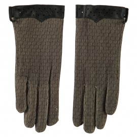 Women's Lace Lined Texting Glove