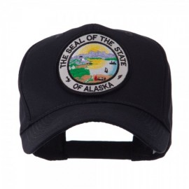 US Western State Seal Embroidered Patch Cap