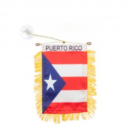 World Mini Banner-Puerto Rico