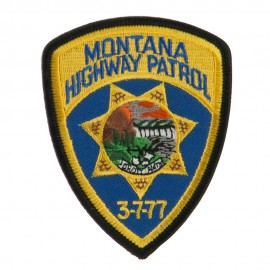 Western State Police Embroidered Patches - MT Hwy