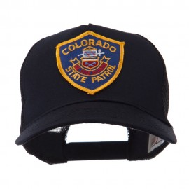 USA Western State Police Embroidered Patch Cap - CO Hwy