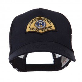 USA Western State Police Embroidered Patch Cap - WA State