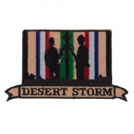 War and Operation Embroidered Military Patch