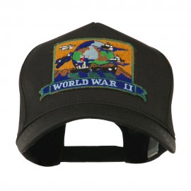 War and Operation Embroidered Military Patched Cap - WW2