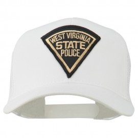 West Virginia State Police Patched Mesh Cap