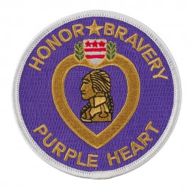 War Related Patches - Purple