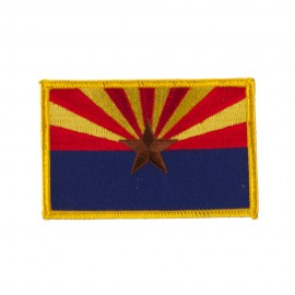Western State Embroidered Patches - Arizona
