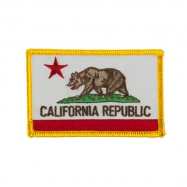 Western State Embroidered Patches