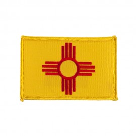 Western State Embroidered Patches - New Mexico