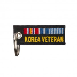 War Veteran Badge Key Chain