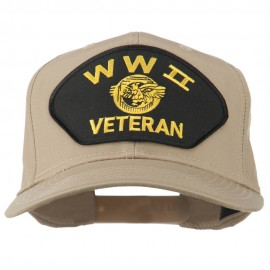WW2 Veteran Military Patch Cap