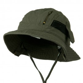 Big Size Brushed Canvas Washed Fisherman Hat