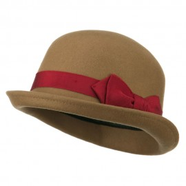 Women's Wool Felt Bowler