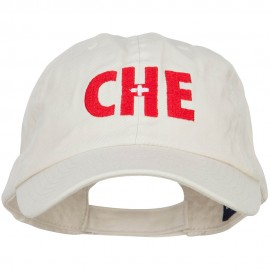 Switzerland CHE Flag Embroidered Low Profile Cap