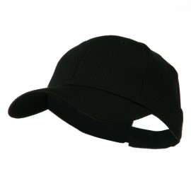 Youth Athletic Jersey Mesh Cap - Black