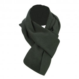 Acrylic Knit Classic Scarf - Charcoal