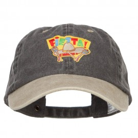 Cinco de Mayo Fiesta Patch Washed Cap