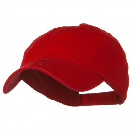 Youth Superior Garment Low Profile Cap - Red