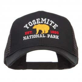 Yosemite National Park Embroidered Mesh Cap