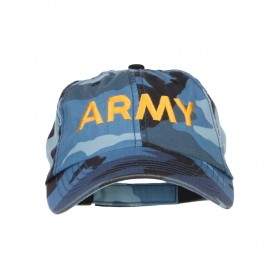 Army Embroidered Enzyme Camo Cap