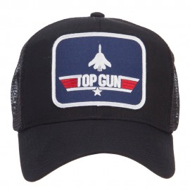 US Navy Top Gun Patched Mesh Cap