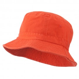 Youth Pigment Dyed Bucket Hat-Orange