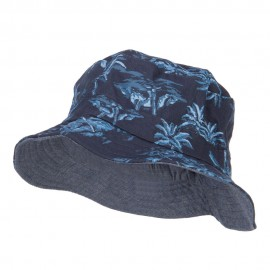 Boy's Reversible Cotton Bucket Hat