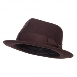 Men's Classic Wool Upbrim Fedora