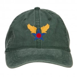 Army Air Corps Embroidered Pigment Dyed Cap