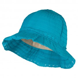 Girl's Bow Accent Bucket Hat