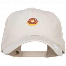 Mini Donut Embroidered Unstructured Cap